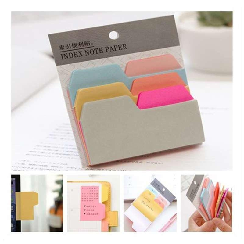 1PC Colourful Sticky Notes Post It Memo Pads - COLOUR 1