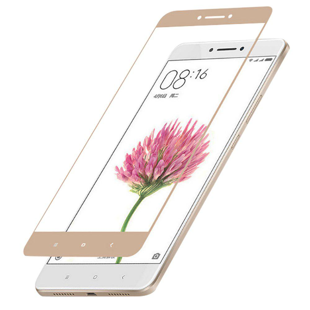 Full-screen Anti-blue Light Protection Film Gold for Xiaomi 5S Plus - GOLDEN