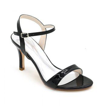 Ladies High Heels Sandals - BLACK BLACK