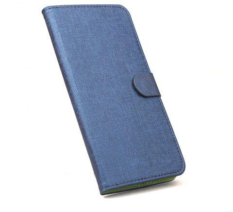 Luxury Flip Stand Clear Phone Case for Nokia 2 Wallet Leather MobiLe Phone Holster Case - BLUE