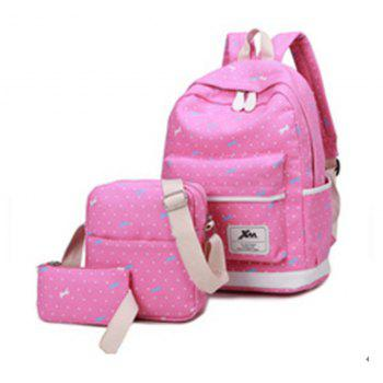 Girl s Bags Set Floral Backpack Shoulder
