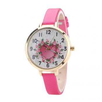 Khorasan The Rose Heart Type Literally Wears A Quartz Watch - ROSE RED ROSE RED