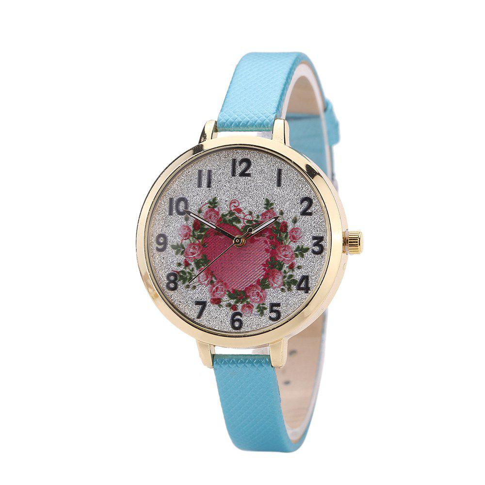 Khorasan The Rose Heart Type Literally Wears A Quartz Watch - AZURE