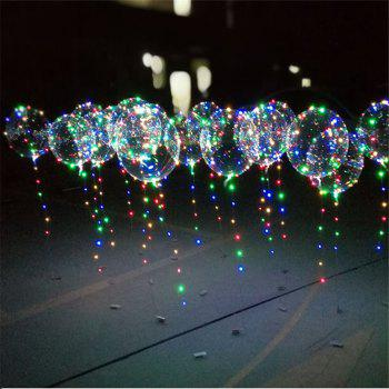 18 Inch Helium Balloons for Christmas Wedding Birthday Party Decorations 10 Pack - TRANSPARENT