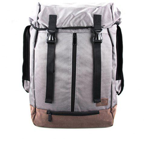 1Pc Student Bag Male Backpacks Fashion Sports - CHROME