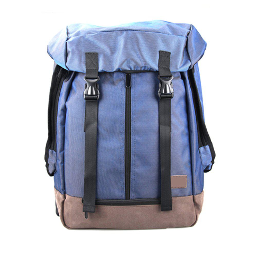 1Pc Student Bag Male Backpacks Fashion Sports - BLUE