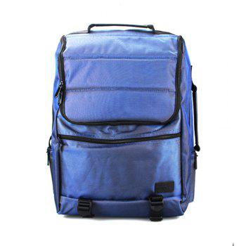 1PC Travel Backpack Waterproof Mountaineering Bag Large Capacity - BLUE BLUE