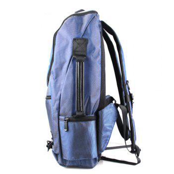 1PC Travel Backpack Waterproof Mountaineering Bag Large Capacity -  BLUE