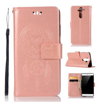 Owl Campanula Fashion Wallet Cover For Nokia 9 Case PU luxury Retro Flip Leather Case Phone Bag With Stand - ROSE GOLD ROSE GOLD