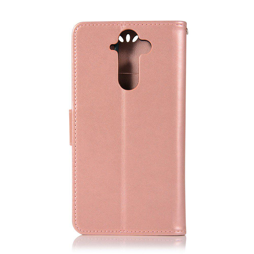 Owl Campanula Fashion Wallet Cover For Nokia 9 Case PU luxury Retro Flip Leather Case Phone Bag With Stand - ROSE GOLD