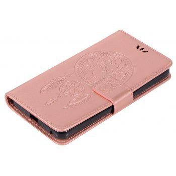 Owl Campanula Fashion Wallet Cover For ZTE Prestige N9132 Case PU luxury Retro Flip Leather Case Phone Bag With Stand - ROSE GOLD