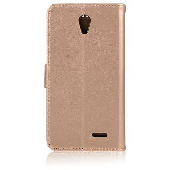Owl Campanula Fashion Wallet Cover For ZTE Prestige N9132 Case PU luxury Retro Flip Leather Case Phone Bag With Stand - GOLDEN