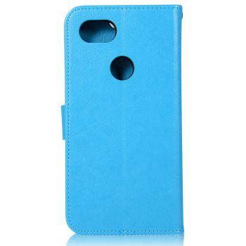 Owl Campanula Fashion Wallet Cover For Google Pixel 2 XL Case PU luxury Flip Leather Case Phone Bag With Stand - BLUE