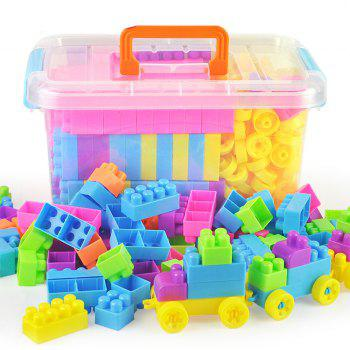 Creative Building Blocks Early Education Toy for Kids 302 Pieces - COLORMIX