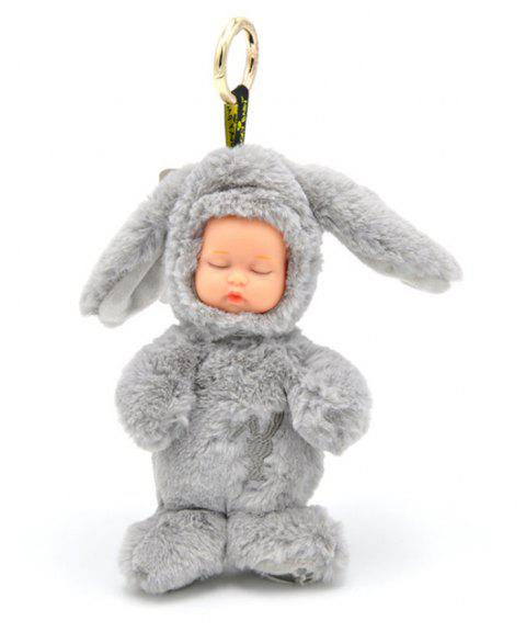 New Long-haired Rabbit Stuffed with Plush Toys - GRAY