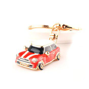Beetle Stylish Car Gift Cartoon Key Chain - RED