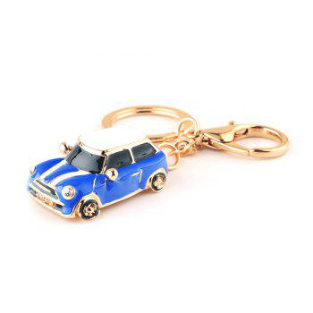 Beetle Stylish Car Gift Cartoon Key Chain - BLUE