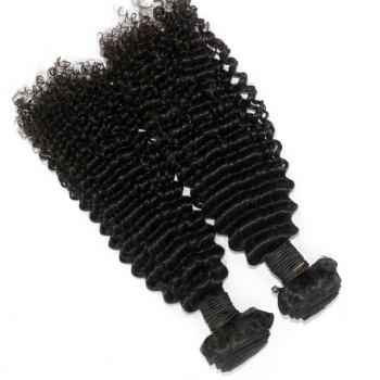 Kinky Curl 100 Percent Brazilian Human Virgin Hair Weave 10 - 22 inch 3pcs/lot - NATURAL COLOR 10INCH*12INCH*14INCH