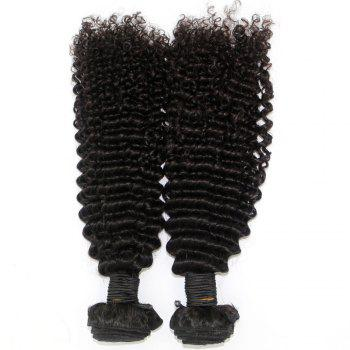 Kinky Curl 100 Percent Brazilian Human Virgin Hair Weave 10 - 22 inch 3pcs/lot - NATURAL COLOR 22INCH*22INCH*22INCH