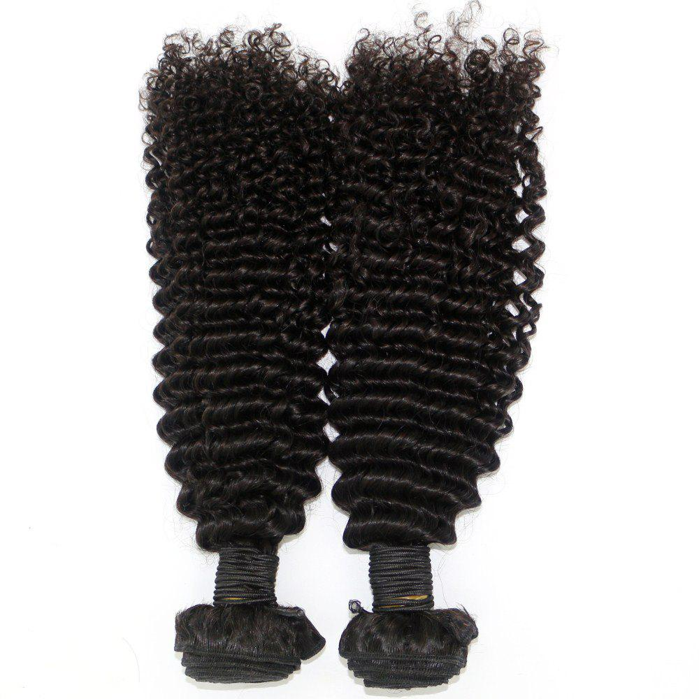 Kinky Curl 100 Percent Brazilian Human Virgin Hair Weave 10 - 22 inch 3pcs/lot - NATURAL COLOR 18INCH*18INCH*18INCH