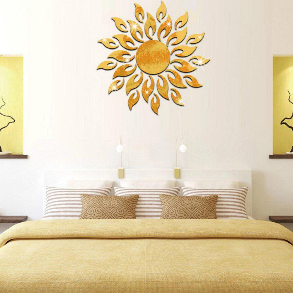2018 3d Mirror Decal Removable Diy Acrylic Decorative Wall Sticker