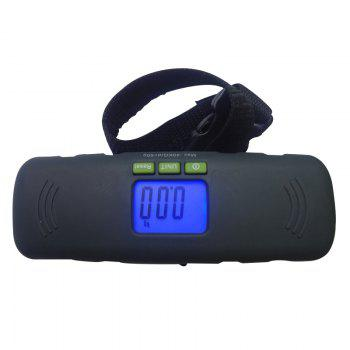NS-3 Portable  Electronic Scales - BLACK