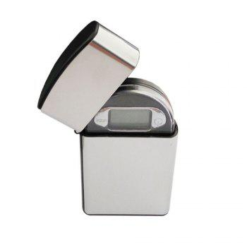 Lighter Mini Electronic Jewelry Scale - SILVER