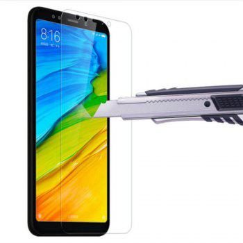 Screen Protector for Xiaomi Redmi 5 Plus HD Full Coverage High Clear Premium Tempered Glass - TRANSPARENT