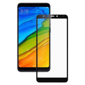 Screen Protector for Xiaomi Redmi 5 Plus HD 3D Full Coverage High Clear Premium Tempered Glass - BLACK BLACK