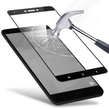 Screen Protector for Xiaomi Redmi Note 5 HD 3D Full Coverage High Clear Premium Tempered Glass - BLACK
