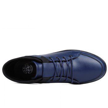 Fashion Casual Shoes with Cashmere - BLUE 43