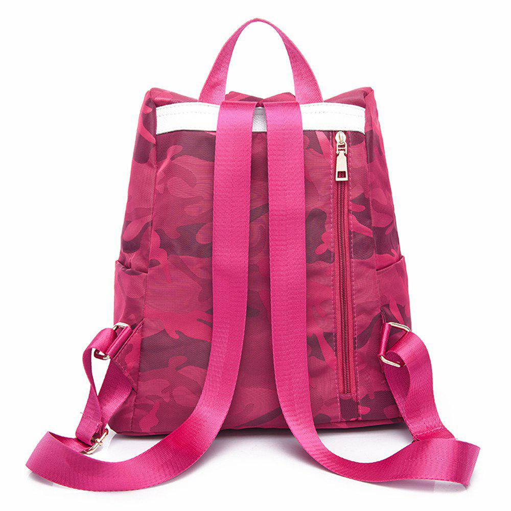 Nylon Simple Fashion Personality Mummy Backpack Package - SANGRIA