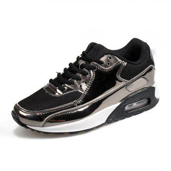New Bright Air Cushion Lovers Shoes - BLACK 46