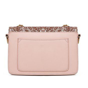 Sequined Female Korean Minimalist Personality Party Shoulder All-match Hand Chain Temperament Small Package - PINK