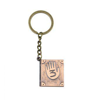 Personalized Stylish Diary Key Chain - ROSE GOLD ROSE GOLD