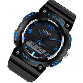 SMAEL SL1539C Multi-function Waterproof Durable Electronic Watch for Students -  BLACK/BLUE