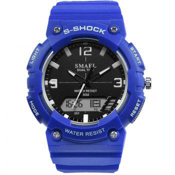 SMAEL SL1539C Multi-function Waterproof Durable Electronic Watch for Students - BLUE BLUE