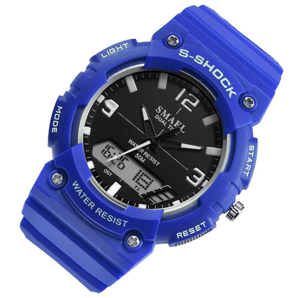 SMAEL SL1539C Multi-function Waterproof Durable Electronic Watch for Students - BLUE