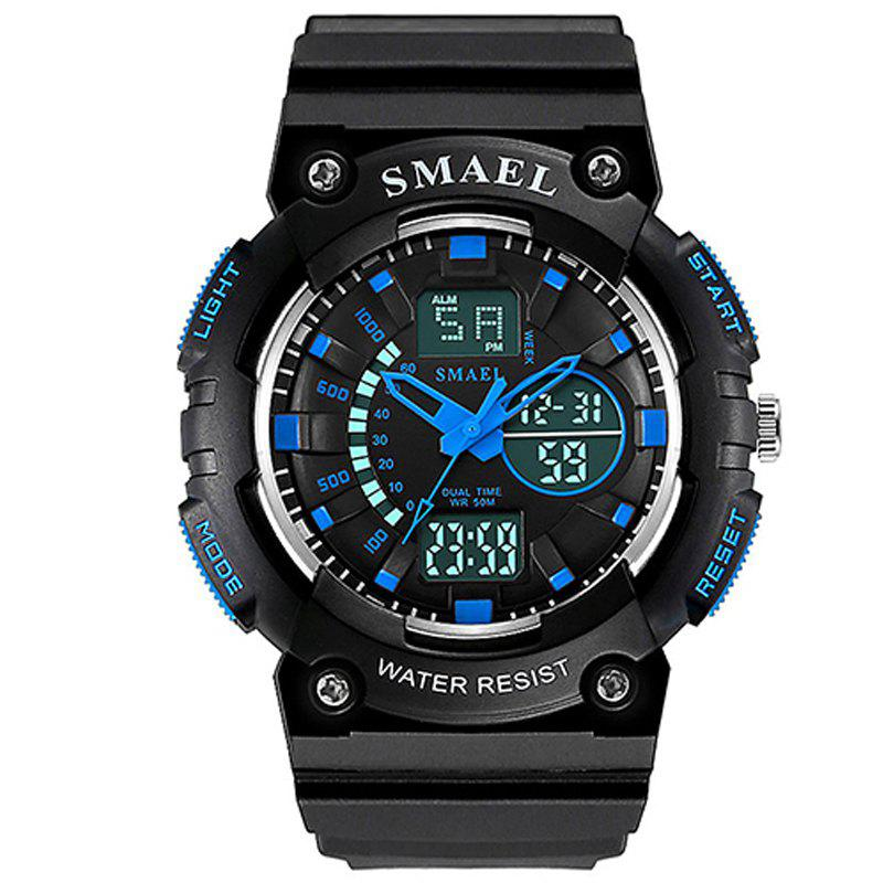 SMAEL 1539 Multi-function Waterproof Electronic Sport Watch for Kids - BLUE