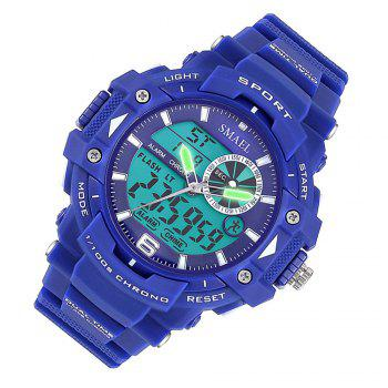 SMAEL 1379 Fashion Multi-function Waterproof Electronic Watch for Men - BLUE