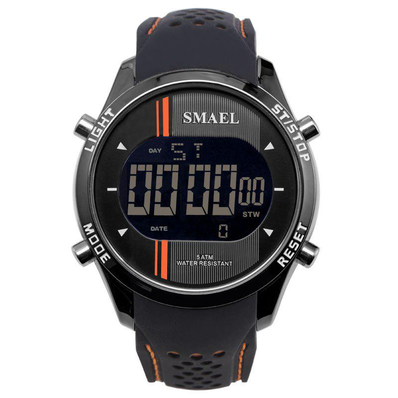SMAEL 1283 Multi-function Waterproof Electronic Sport Watch - ORANGE