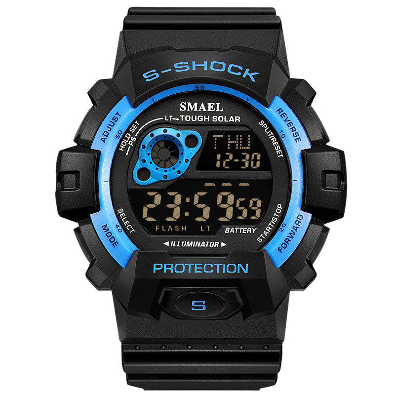SMAEL 1446 Cool Multi-function Waterproof Sport Electronic Watch - BLUE