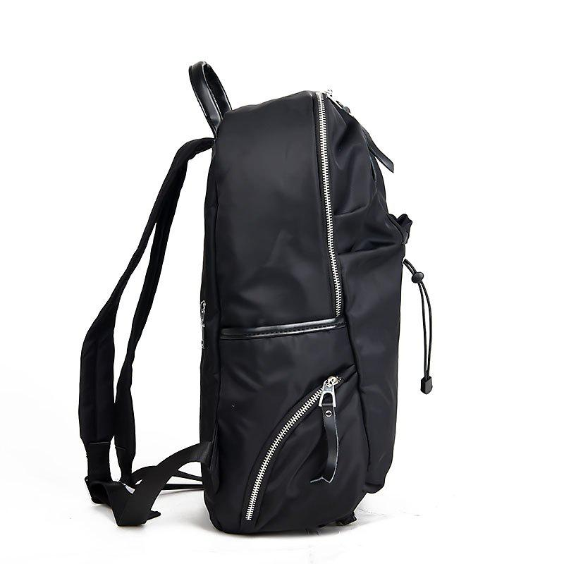 The New Outdoor Sports Double Shoulder Bag Waterproof Ultra-Portable Mountaineering Travel Backpack - BLACK 28 X 17 X 44