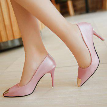 Fashion Sexy High Heel Shoes - PINK PINK