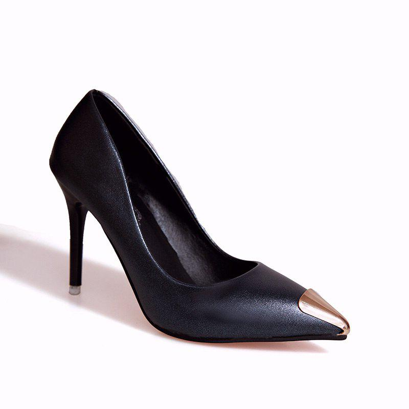 Fashion Sexy High Heel Shoes - BLACK 35