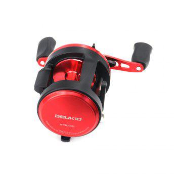 2018 New Arrival Baitcasting Round Fishing Reel with Double Soft Rubber Knob - FLAME FLAME