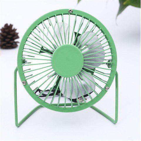 USB Delicate and Cabinet Type Electric Fan - GREEN