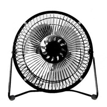 USB Delicate and Cabinet Type Electric Fan - BLACK BLACK