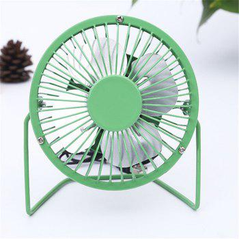 USB Delicate and Cabinet Type Electric Fan - GREEN GREEN