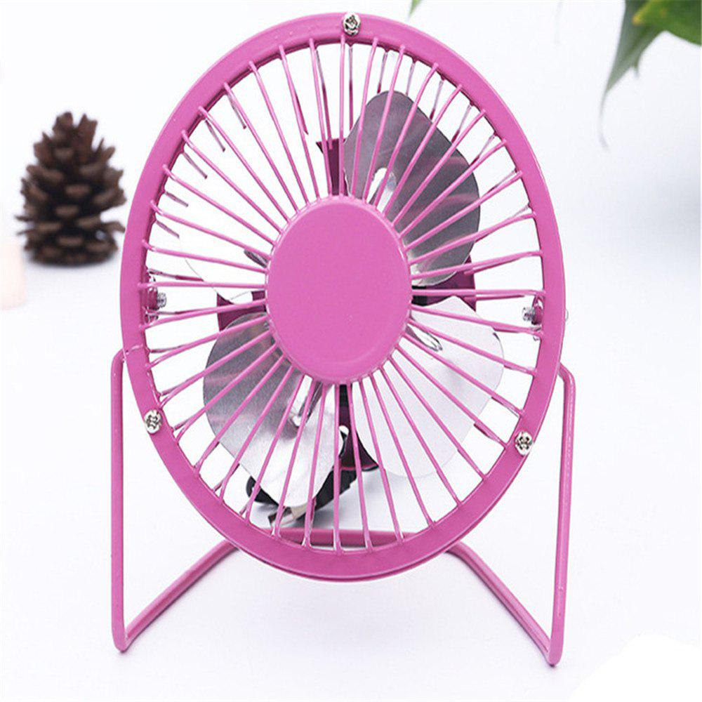 USB Delicate and Cabinet Type Electric Fan - PINK